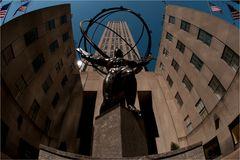 Rockefeller Center - Touriperspektive