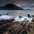 Rocks of Loch Leven