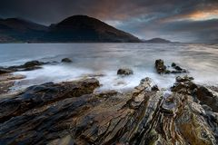 Rocks of Loch Leven