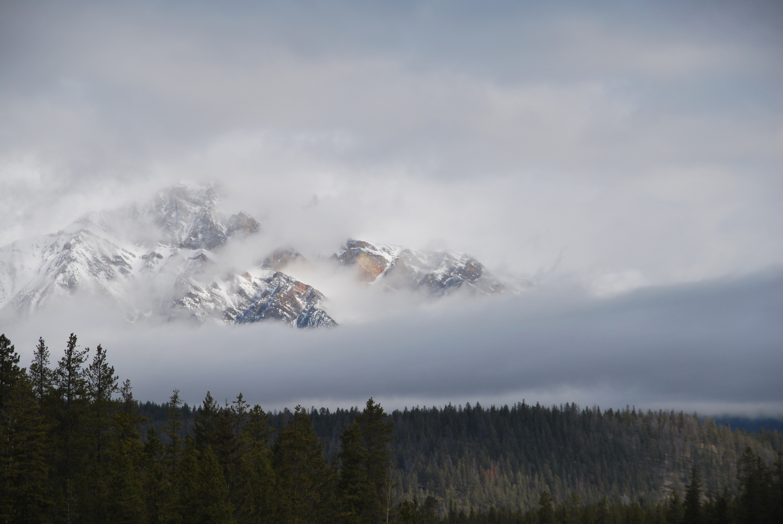 Rocky Mountains - Cloudy