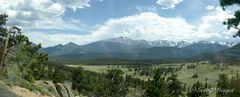 Rocky Mountains NP Süd Panorama 4.6.12