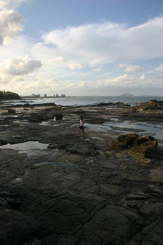 rocky side of sunshine coast