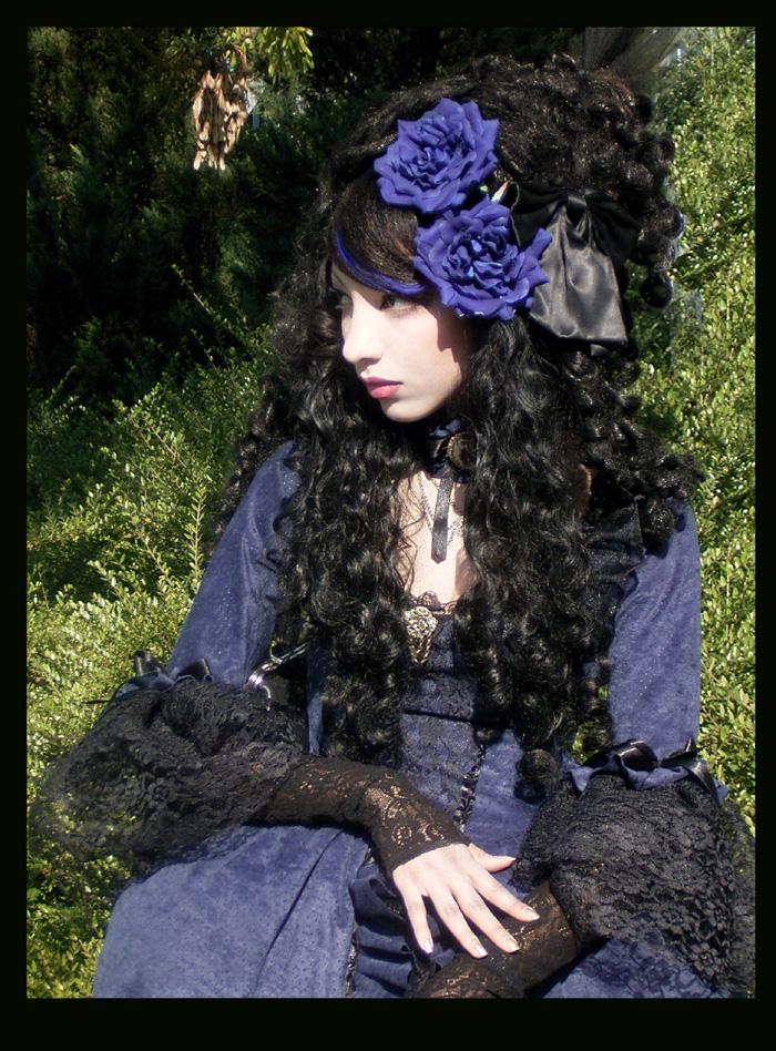 Rococo en bleu