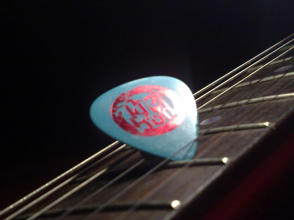 Rod´s Plek auf meiner Gitarre