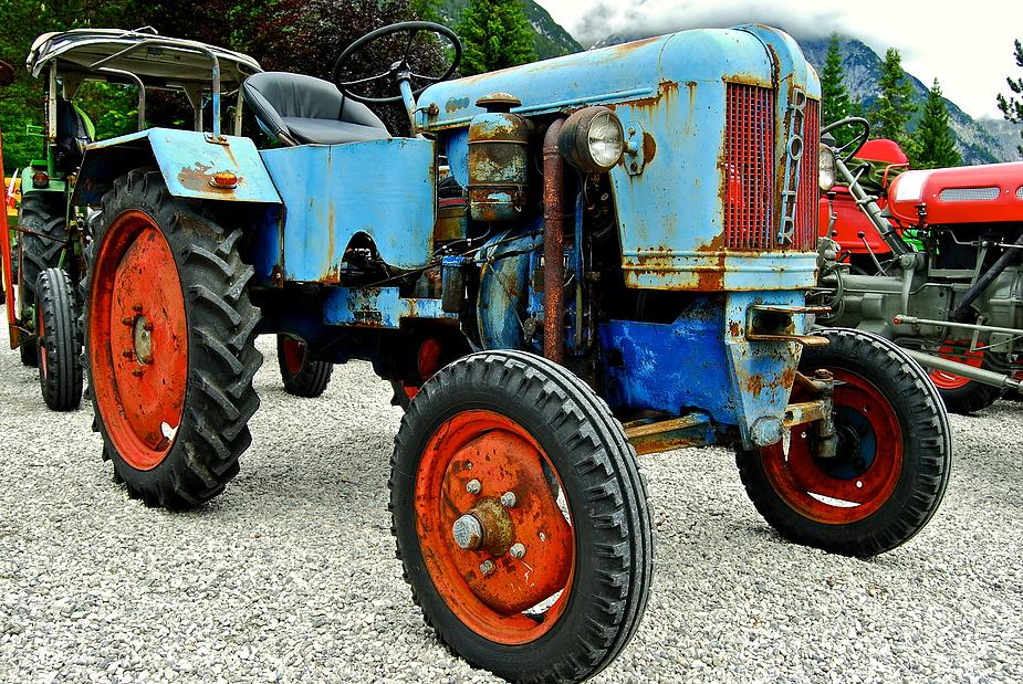 Röhr Traktor Foto Bild Industrie Und Technik Traktoren
