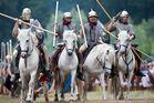 Römer auf dem Weg in die Schlacht 2
