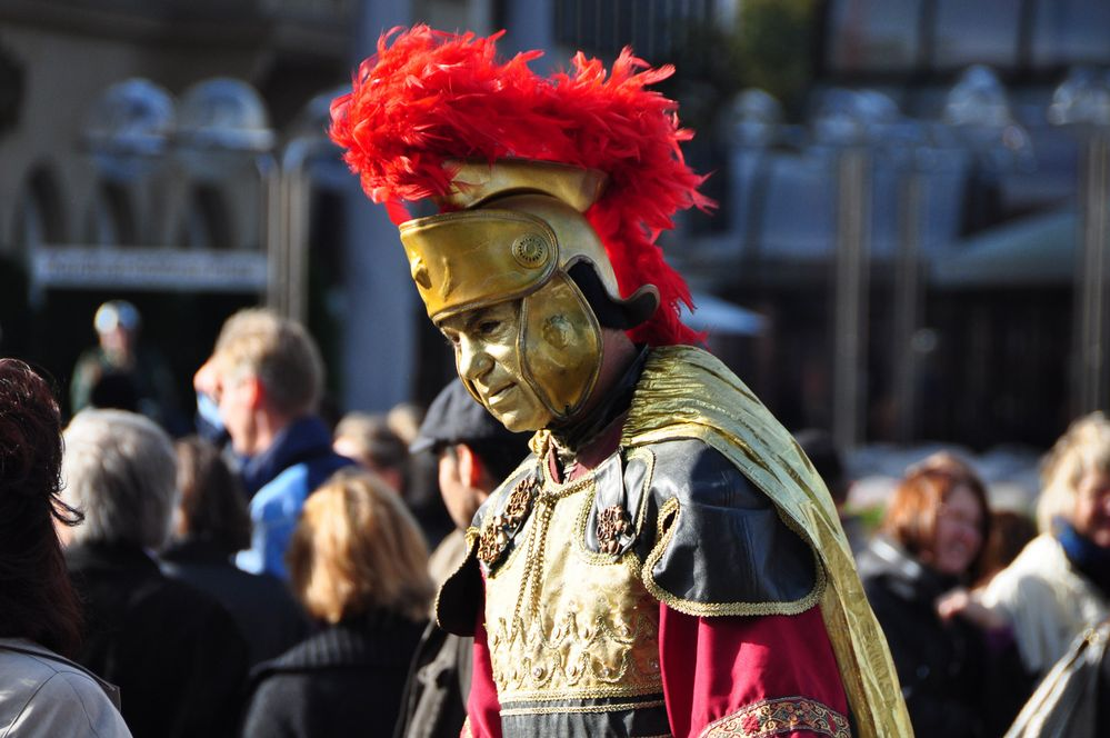 Römer vor dem Kölner Dom