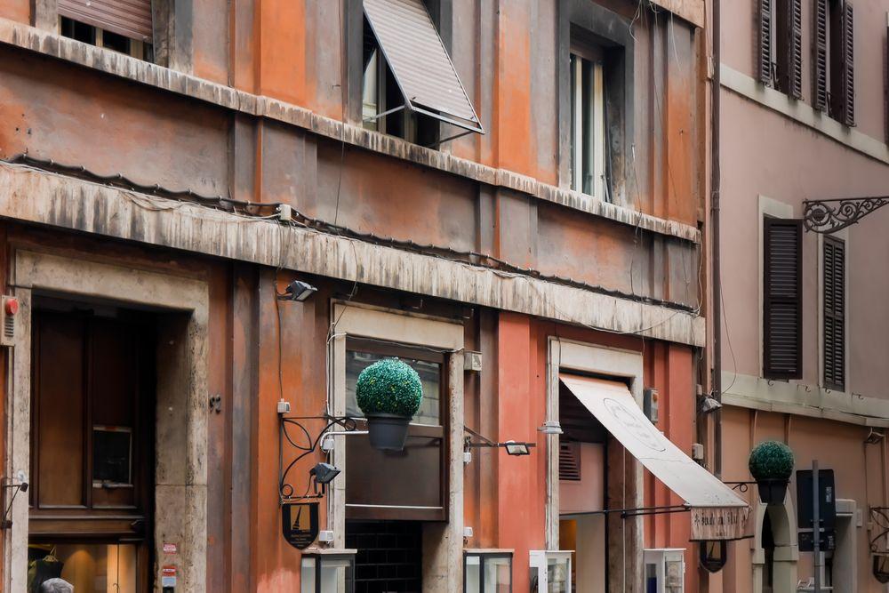 römische Fassade