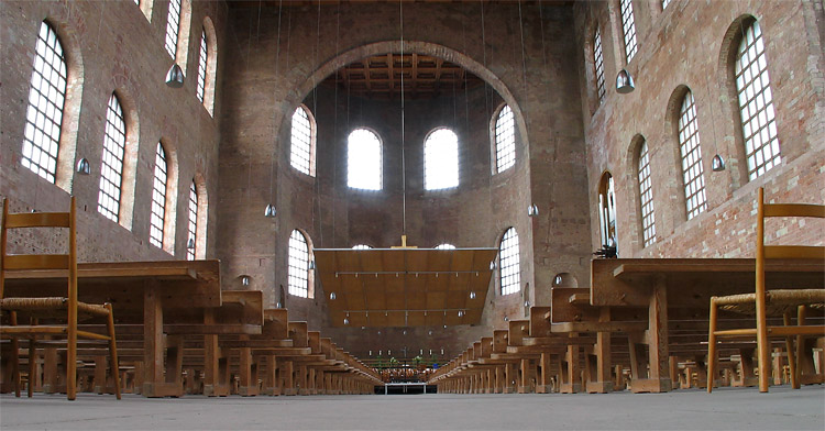 Römische Palast Aula im Trier