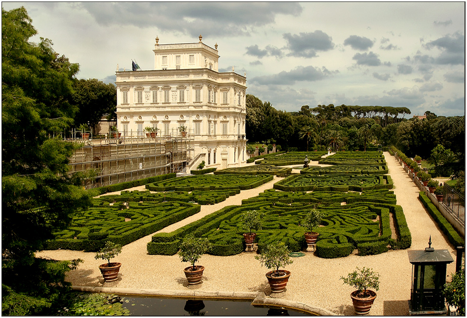 Römischer Garten Foto Bild Europe Italy Vatican City S Marino