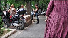 ... römischer Straßenalltag ...