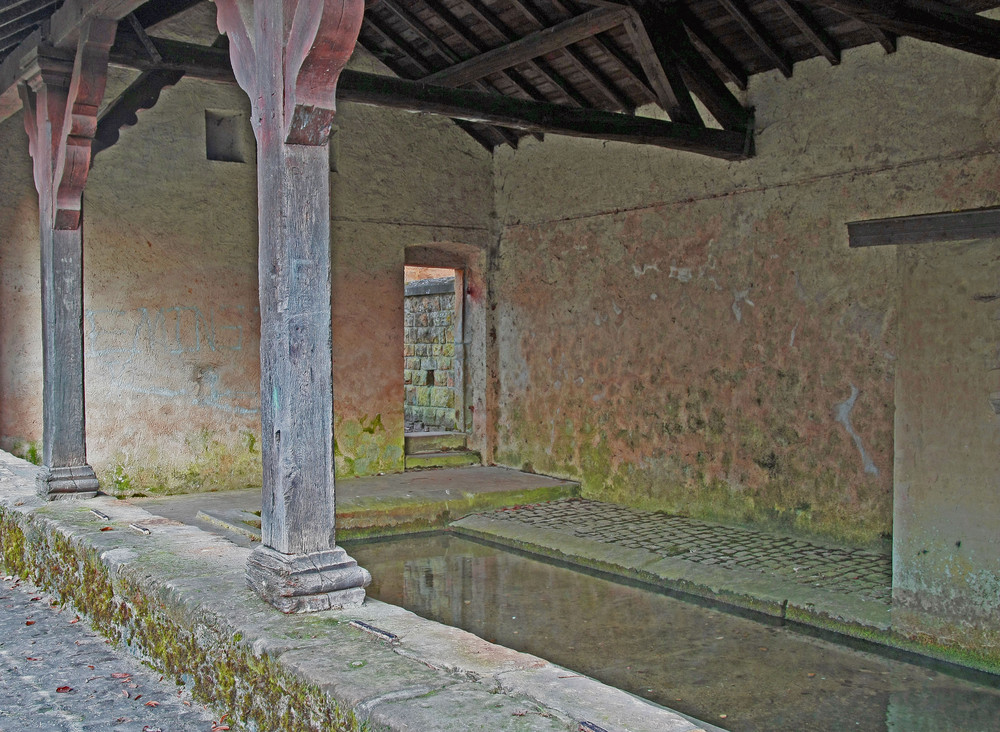 römischer Waschsalon