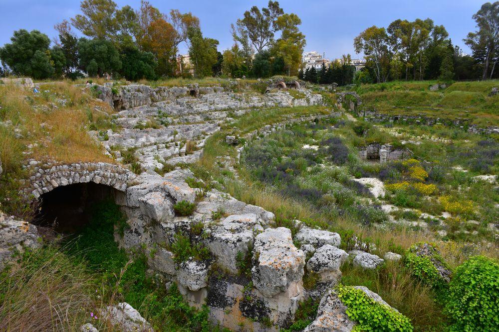 Römisches Amphitheater in Syrakus