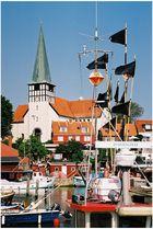 Roenne (Bornholm, DK), Soendre Badhavn ...