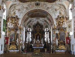 Rokokokirche St. Ulrich in Seeg