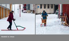 Rollatoren für den Schnee