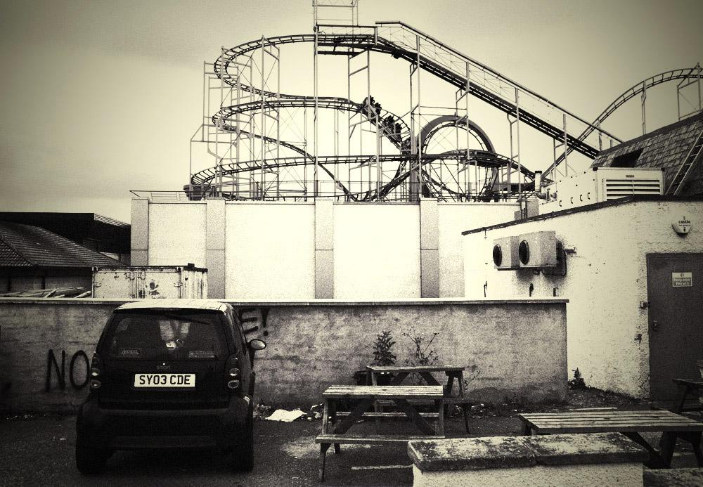 Roller coaster - Aberdeen 2009
