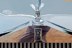 Rolls Royce Kühlerfigur im Detail