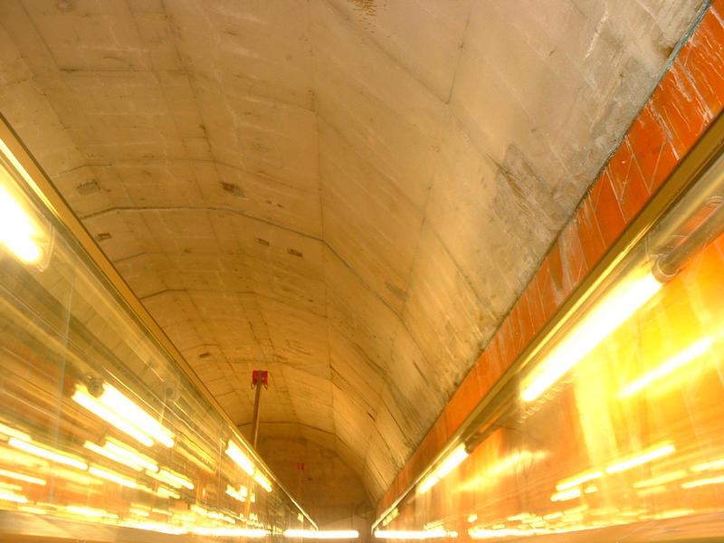 Rolltreppe bei 160 km/h :)