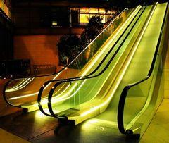 Rolltreppe - die letzte