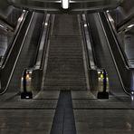 Rolltreppe U-Bahn Dortmund
