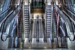 Rolltreppen in der Markthalle Rotterdam