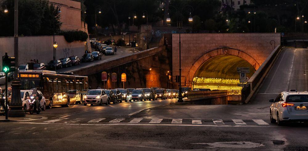 Rom 20 Uhr am Abend