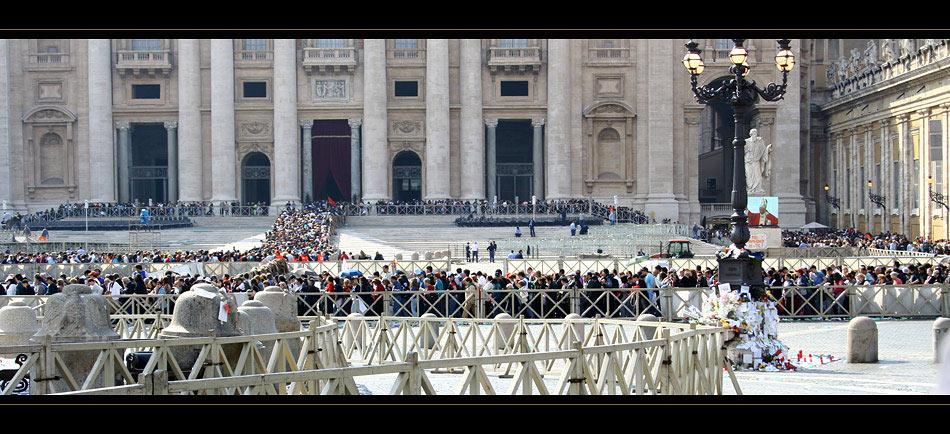 Rom #5 Erinnerungen an den zweiten Todestag von Johannes Paul II.