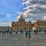 ROM - Basilica di San Pietro nella Città del Vaticano -