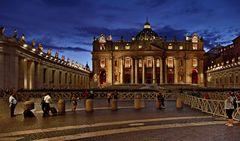 Rom   - Basilika Sankt Peter im Vatikan -