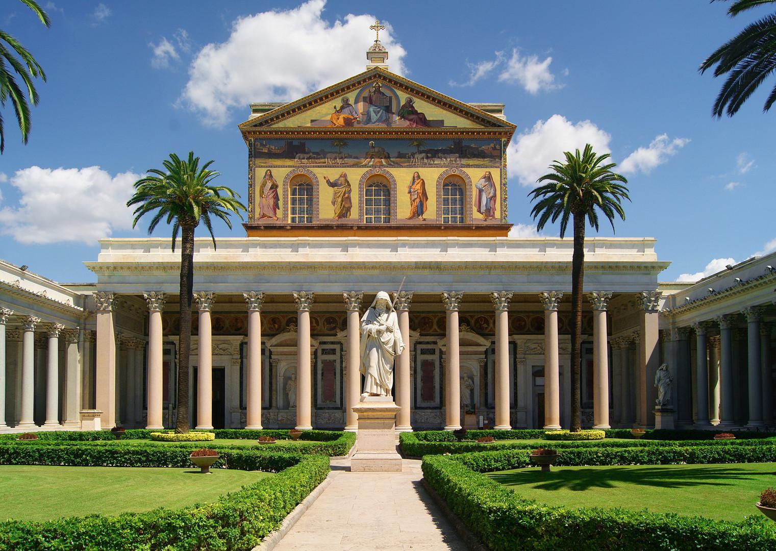 Rom: Basilika St. Paul vor den Mauern