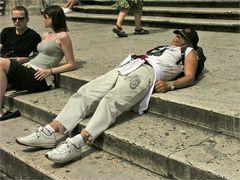 Rom bei 35° Celsius