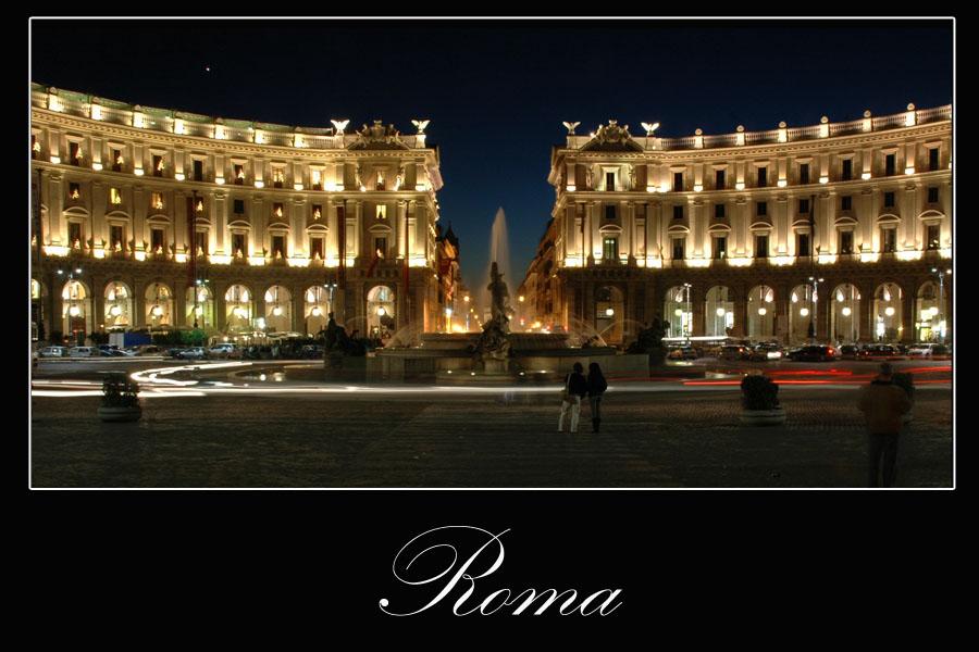Rom bei Nacht Teil II