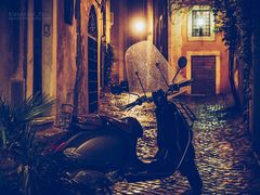 Rom bei Nacht - Via dei Coronari