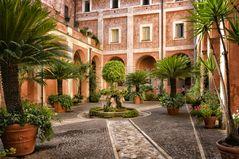 Rom bezaubernde Innenhöfe