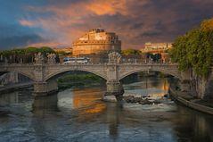 Rom Engelsburg - Ponte Vittorio Emanuele II