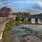 ROM Engelsburg   - Spaziergang am Tiber -