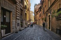 Rom gemütlich schlendern