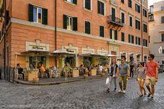 Rom gemütlich schlendern - Trastevere -