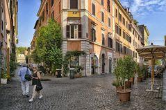 Rom hat tolle Eckhäuser
