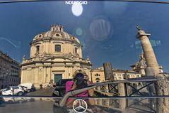 Rom im Spiegel-  Trajansforum -Roma