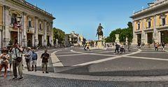 ROM - Kapitolsplatz, Piazza del Campidoglio -