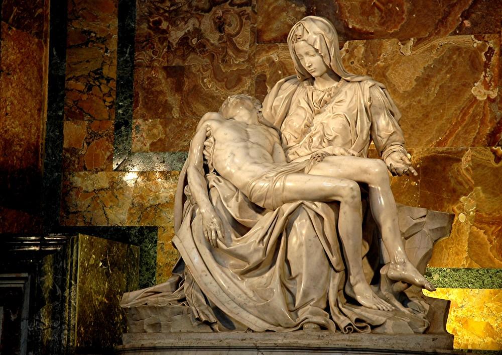 Rom Michelangelos Pietà im Petersdom