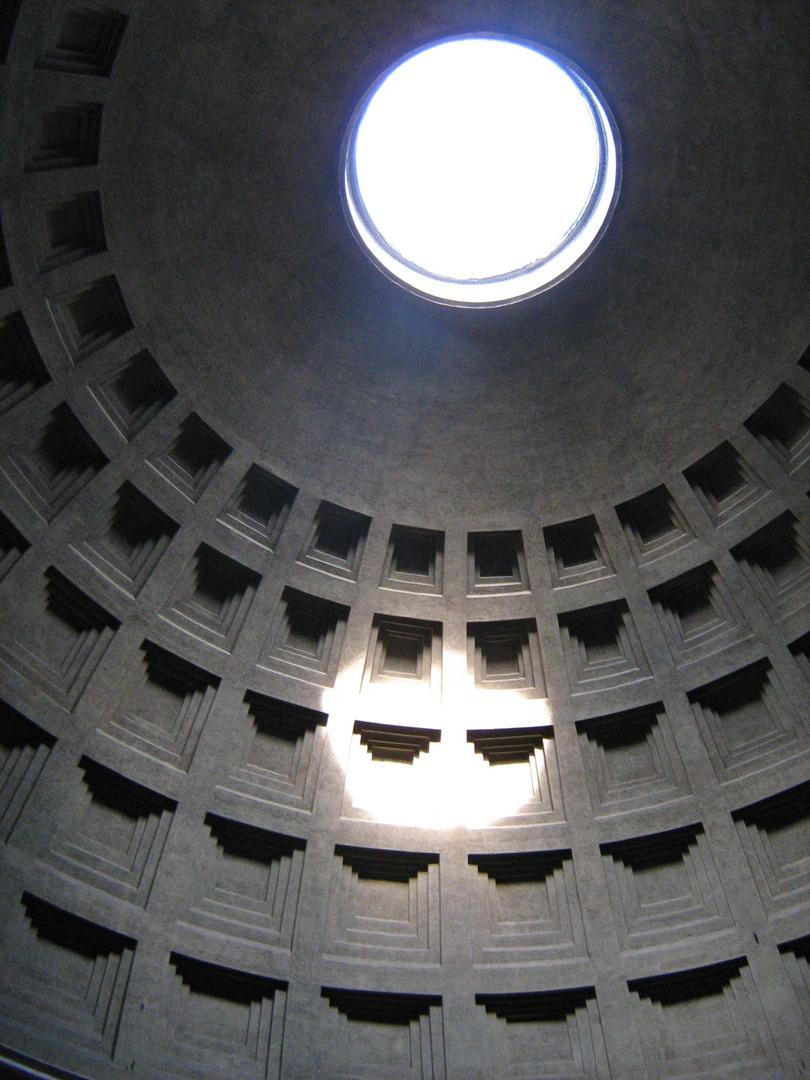 Rom 'Novemberlicht' im Pantheon