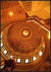 Rom----Petersdom, die Kuppel