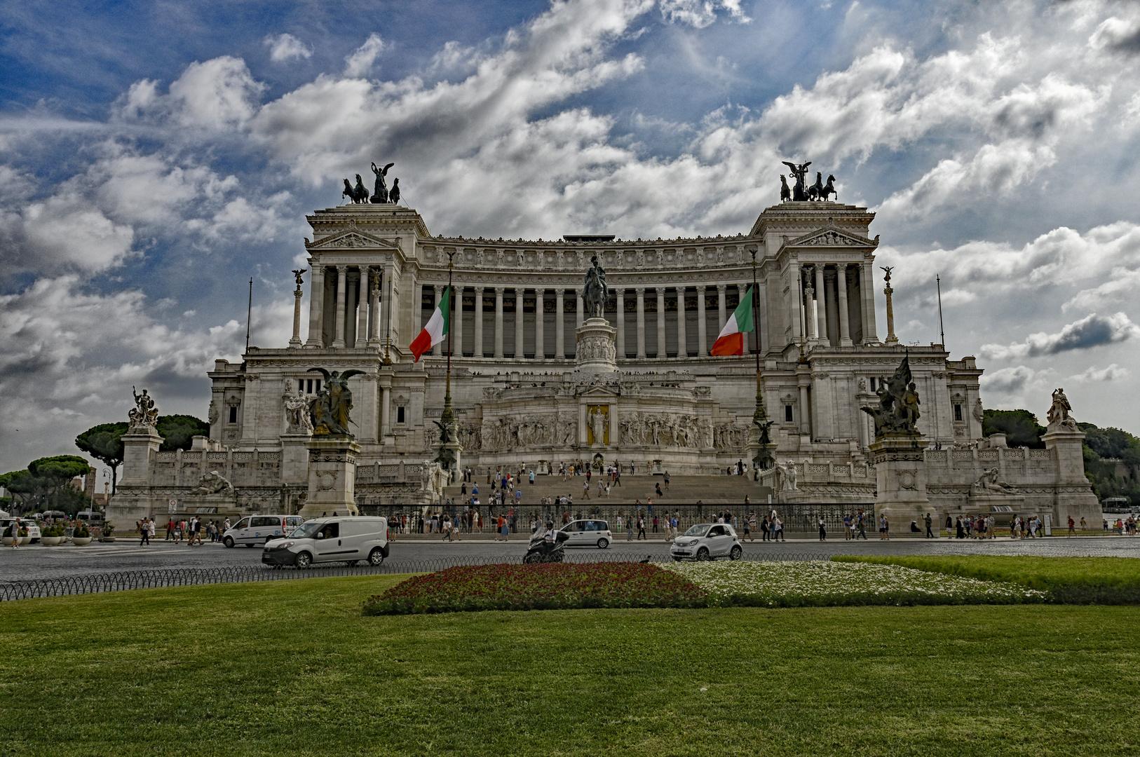 Rom – Piazza Venezia & Monumento Vittorio Emanuele II