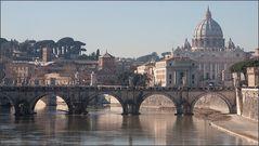 Rom: Pinien und Kuppeln