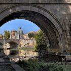 ROM   - Spaziergang am Tiber -