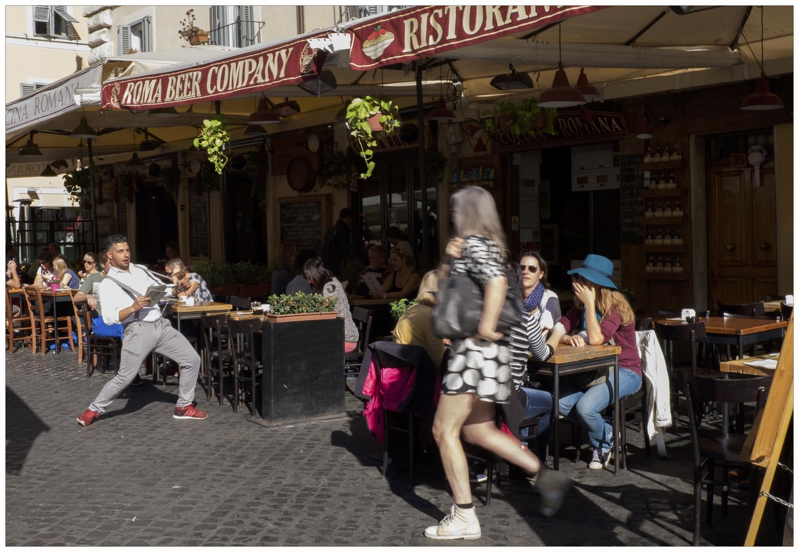 Rom - Straßenszene