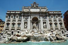 Rom Trevi-Brunnen